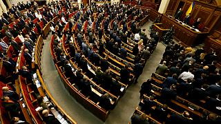 پارلمان اوکراین «وضعیت ویژه» در شرق اوکراین را تمدید کرد