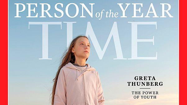 TIME dergisinin Greta Thunberg'li 'Yılın Kişisi' kapağı