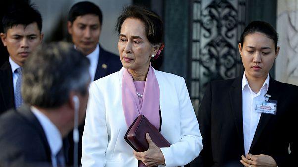 انتقاد از سکوت آنگسانسوچی درباره خشونت جنسی علیه مسلمانان روهینگیا