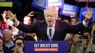 İngiltere'de seçimler: Boris Johnson, sandık çıkış anketlerine göre Brexit için gereken yetkiyi aldı