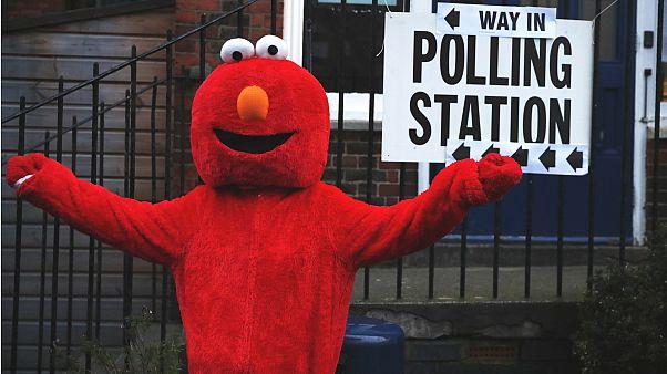 Birleşik Krallık'tan seçim manzaraları