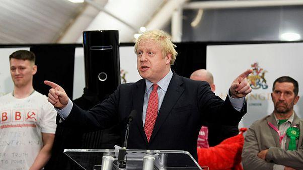 انتخابات بریتانیا؛ جانسون: نتیجه آراء به معنی تحقق برکسیت است