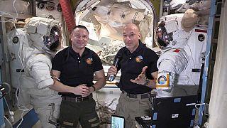 La Nasa sale a bordo della ISS