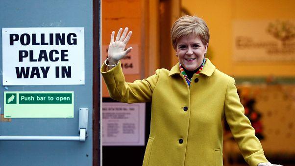 رئيسة وزراء اسكتلندا نيكولا ستورجن