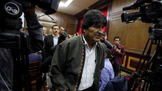 Bolivya Devlet Başkanı Evo Morales istifasının ardından sığınmacı olarak Arjantin'e geldi