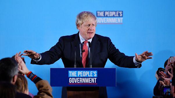 """Johnson jubelt: """"Wir leben in der großartigsten Demokratie der Welt!"""""""