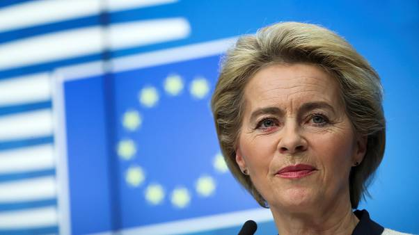 European Commission President Ursula von der Leyen in Brussels, Belgium December 13, 2019.