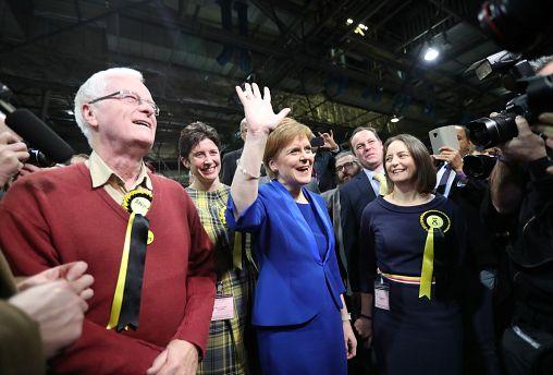 El Partido Nacionalista Escocés triunfa en Westmister con 48 de los 59 escaños de Escocia