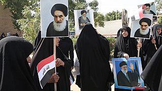 العراق: السيستاني يندد بقتل وخطف المحتجين
