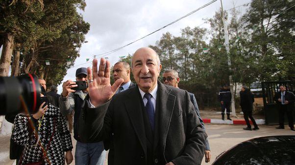 Cezayir'de cumhurbaşkanlığına Abdulmecid Tebbun seçildi