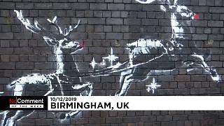 No comment videos of the week: Banksy, bananas and banners as art takes centre stage
