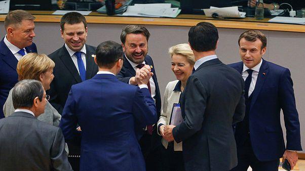 زعماء لدولٍ في الاتحاد الأوروبي في القمّة الأوروبية أواخر 2019 ببروكسل