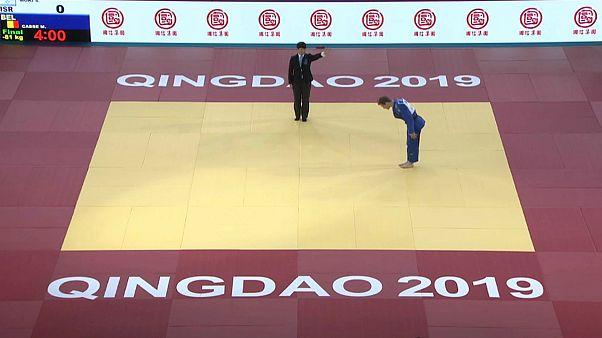 جودو؛ شکست سعید ملایی زیر پرچم مغولستان و مدال طلای ورزشکار بلژیکی در مسابقات مسترز چینگدائو