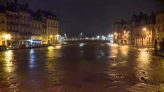 Újabb ítéletidő csapott le a francia partokra