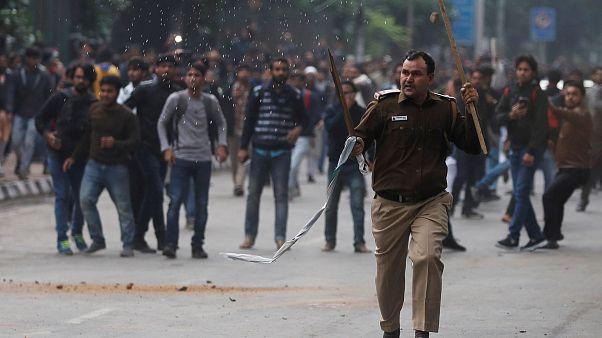 استمرار المظاهرات في الهند احتجاجا على قانون مثير للجدل حول الجنسية