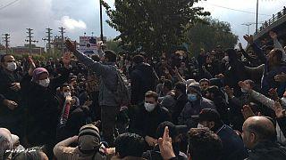 تظاهرات سراسری آبان ماه در  ایران
