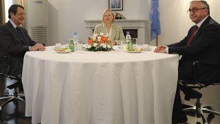 Κοινή παρουσία Αναστασιάδη, Ακιντζί και Σπέχαρ σε συνέδριο