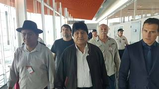 Evo Morales refugia-se na Argentina