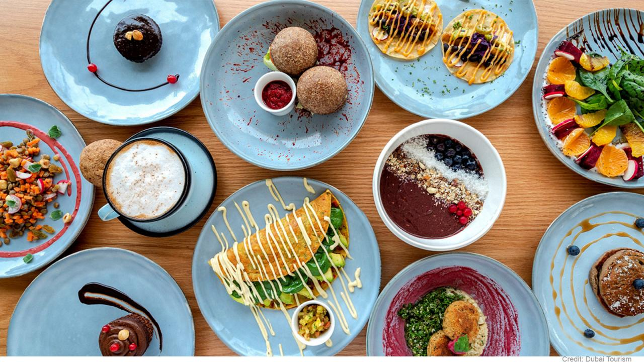 Dubai's best vegan restaurants