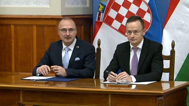 Horvát-magyar külügyi találkozó Budapesten
