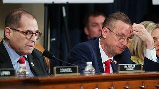 لجنة القضاء في مجلس النواب الأمريكي لعزل الرئيس- أرشيف رويترز