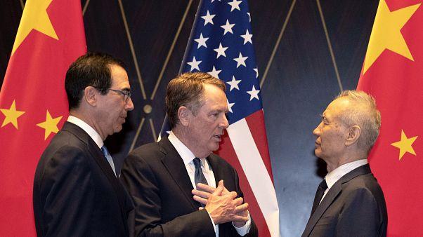 ABD ile Çin, ticaret savaşlarını sonlandıran ön anlaşmayı duyurdu