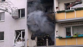 Германия: взрыв в жилом доме