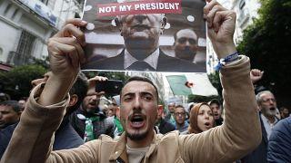 Protestos contra eleição de Abdelmadjid Tebboune