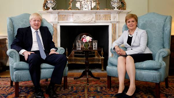 UK PM tells Sturgeon he's against a second Scottish independence vote