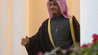وزير الخارجية القطري الشيخ محمد بن عبد الرحمن آل ثاني. 13/01/2019