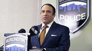 Burlington Polis Şefi Brandon del Pozo