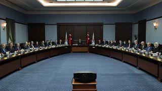 AK Parti genel merkezinde Merkez Karar ve Yönetim Kurulu toplantısı