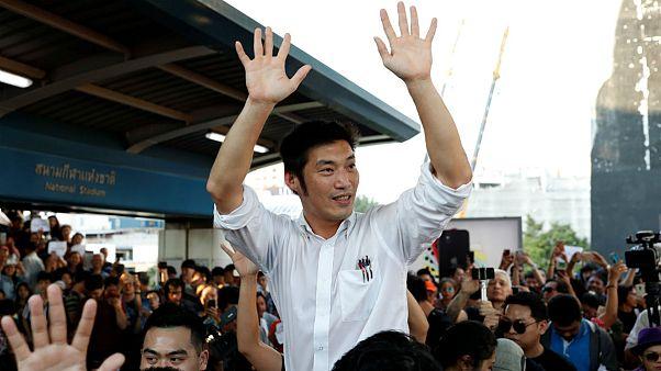 تایلند؛ برگزاری بزرگترین راهپیمایی اعتراضی علیه دولت نظامی