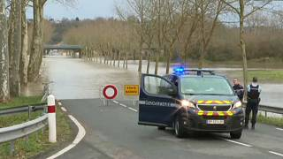 Сильные наводнения на юге Франции