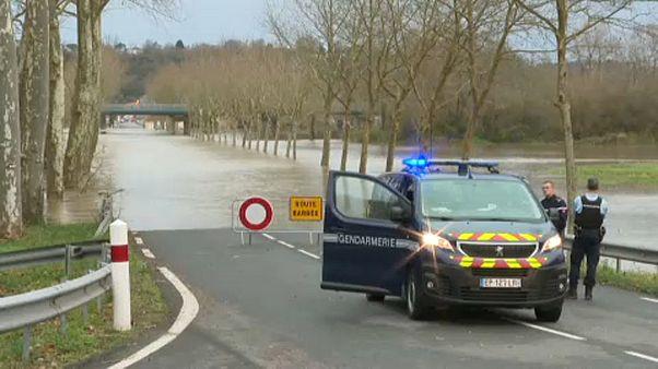 El temporal que azota el sur de Francia deja al menos un muerto y un desaparecido