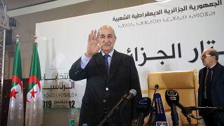 عبد المجيد تبون، رئيس الجزائر المنتخب