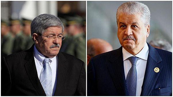 رئيسا الوزراء السابقان عبد المالك سلال واحمد أويحي