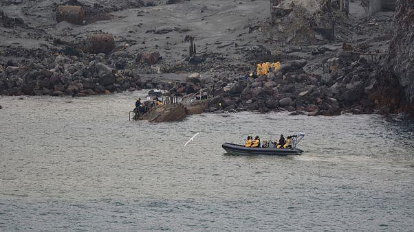 White Island: Rettungskräfte suchen nach Vermissten