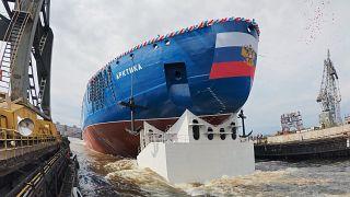 Επιτυχής δοκιμή του πυρηνικού παγοθραυστικού της Ρωσίας