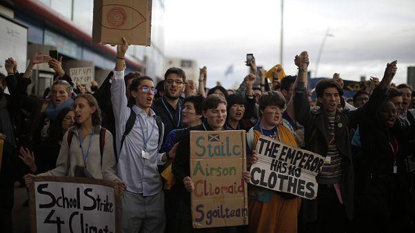 Διαμαρτυρία κατά των ηγετών στη Μαδρίτη