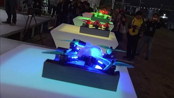 Παγκόσμιο πρωτάθλημα ταχύτητας με drones