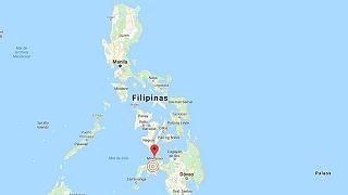 Un fuerte terremoto sacude la isla filipina de Mindanao