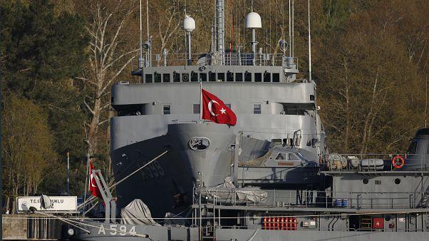 Türk Donanması'na ait gemiler