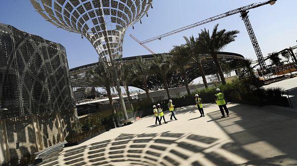 أحد أجنحة معرض دبي 2020 قيد الإنشاء - 2019/10/08