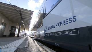 Francia y Suiza inauguran la mayor red de tren transfronteriza de Europa