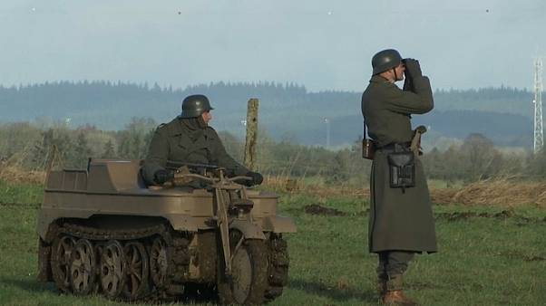 Реконструкторы отметили 75-летие Арденнской операции