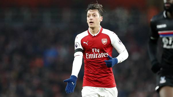 Arsenal's Mesut Ozil is a German player of Turkish descent