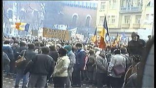 La revolución que acabó con la dictadura de Ceaucescu en Rumanía cumple 30 años