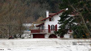 Megint áradások voltak Franciaországban