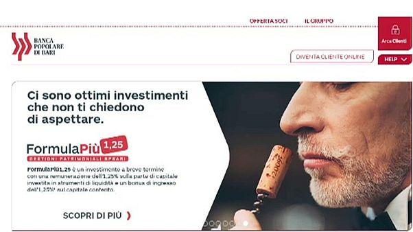 Italien rettet Krisenbank Popolare di Bari